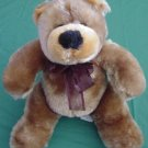 Calplush Brown Squishy & Soft Bear Stuffed Plush 9""