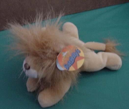 "MSN Microsoft Lion SoftBelly's Manager Beanie Plush 7"" Screen Cleaner"