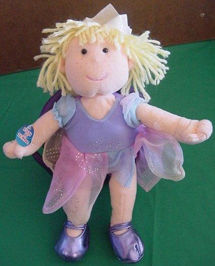 "Animal Alley Blonde Princess Sound Stuffed Plush 10"""