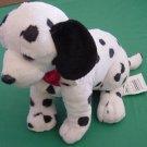 """Wal-mart Dalmation Dog Spotted Sitting Stuffed Plush 7"""""""