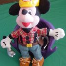 Mickey Disneyland Construction Hammer Beanie Plush 8""