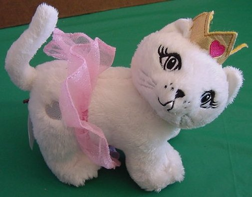 "Princess Cat Kitty Stuffed Plush 6"" Soft Lego"