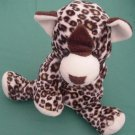 Animal Alley Leopard Cat Floppy Beanie Stuffed Plush 8""