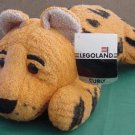 "Legoland Cheetah Curly Stuffed Plush 11"" Soft Lego"
