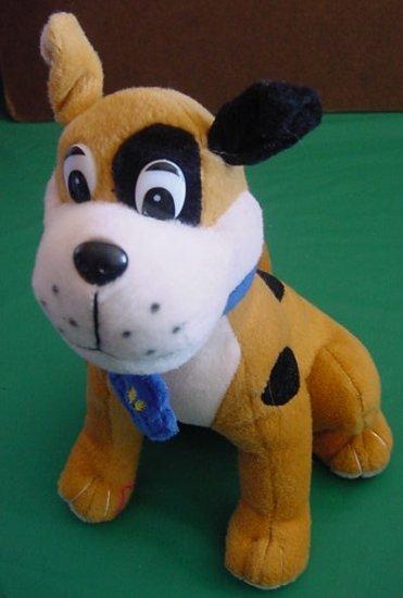 "Circus Circus Sitting Spotted Dog Stuffed Plush 8"""