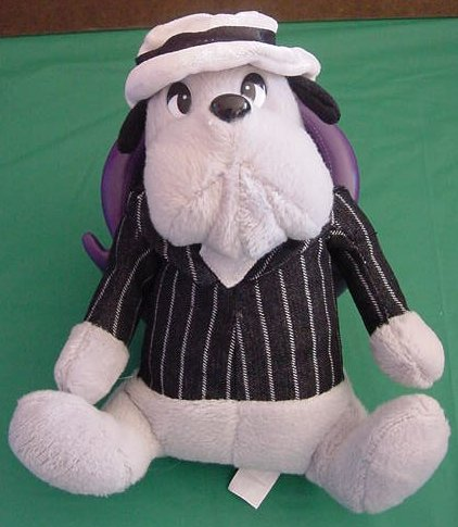 """Classic Toy Co Old Time Gangster Dog Stuffed Plush 9"""""""