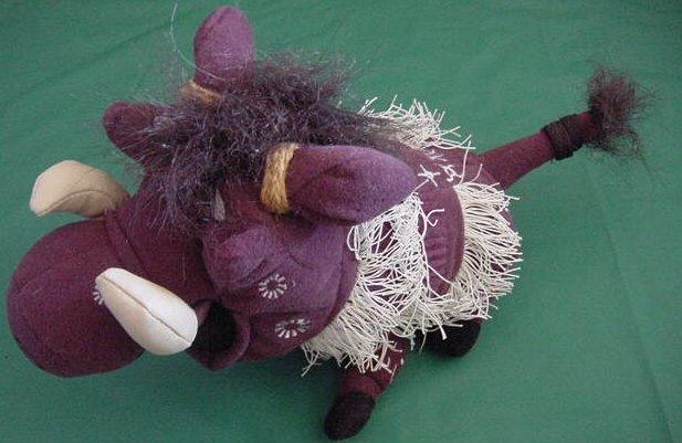 Disney Broadway Lion King Pumba Warthog Stuffed Plush