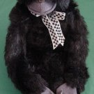 World Market Velcro Hands Black Gorilla Stuffed Plush
