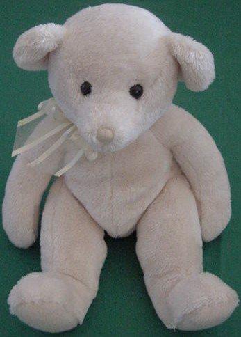 "Douglas Cuddle Toy Cream Yellow Bear Stuffed Plush 6"""