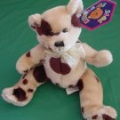 "Kuddle Me Toys Spotted Brown Bear Stuffed Plush 7"" Tag"
