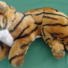 Toy Works Bengal Tiger Basking Stuffed Plush 8""