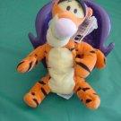 "Winnie Pooh Wake Up Tigger Stuffed Plush Beanie 7"""