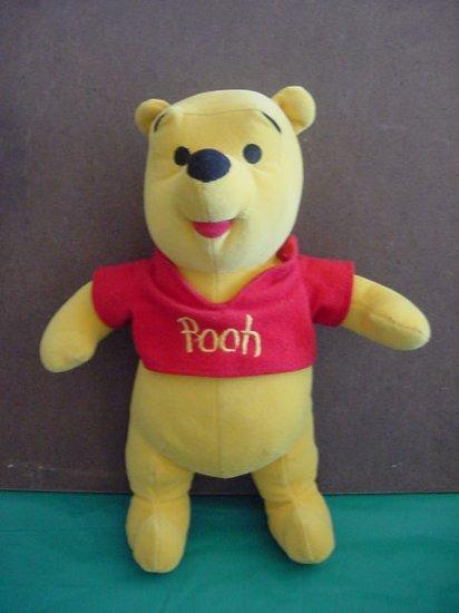 """Winnie the Pooh Bear Disney Mattel Stuffed Plush 10"""""""