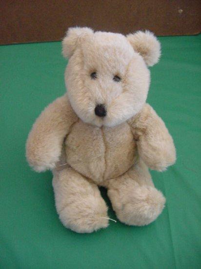 """Cute Grayish Brown Bear Stuffed Plush Beanie 7"""""""