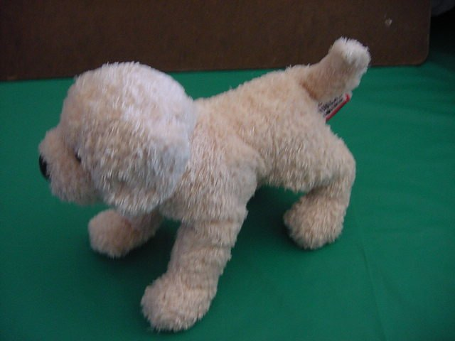 Douglas Cuddle Toy Golden Retriever Dog Beanie Plush 7""