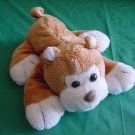 King Plush Brown White Dog Puppy Beanie Plush 7""