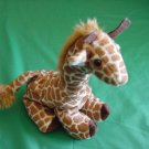 Wildlife Artists Giraffe Beanie Stuffed Plush 5""