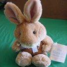 "Flopkins Barthalomew Bunny Rabbit 1999 Stuffed Plush 6"" JoAnn Fabrics"