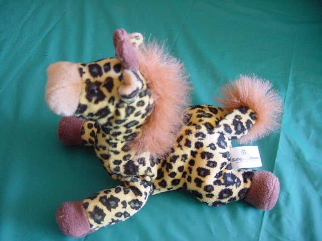 "King Plush Yellow Giraffe Beanie Stuffed Plush 5"""
