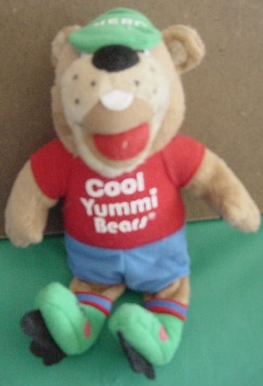 Cool Yummi Bears Vitamins Beanie Bear Stuffed Plush