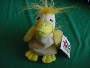 "Floppie Toss'ems Drizzles Duck Beanie Plush 6"" Ganz"