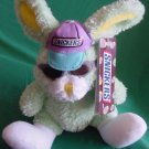 "Easter Snickers Green Bunny Stuffed Plush 6"" Galerie"