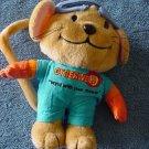 "Cyberweld Mouse Welder Outfit Stuffed Plush 7"" VHTF"