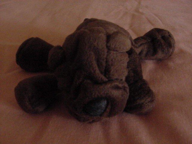 "Animal Alley Wrinkly Face Dog Stuffed Plush Beanie 6"""