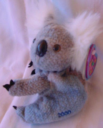 Avon Full O Beans Koala Gumdrops Stuffed Plush Tag 2000