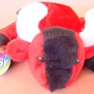 "OTC Red Bull Beanie Stuffed Plush Hopsy Tag 6"" Cute"