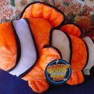 "Great American Clown Fish Stuffed Plush 12"" Orange Tag"