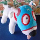 "Mucha Lucha Wrestling Dog Stuffed Plush 9"" Cartoon"