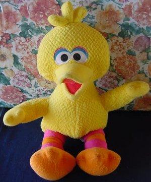 "My First Pal Big Bird Sesame Street Stuffed Plush 10"" FP Mattel"
