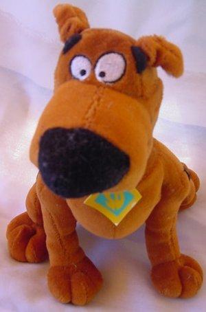 "Scooby Doo Dog Sitting Giftco Stuffed Plush 8.5"""