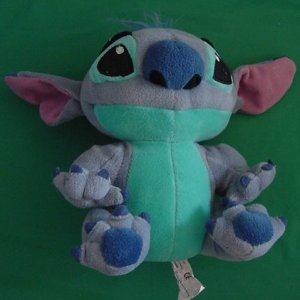 "Disney Lilo & Stitch Stitch as Dog Stuffed Plush 7"""