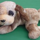 Russ Berrie Emerson Brown Puppy Dog Beanie Plush 7""