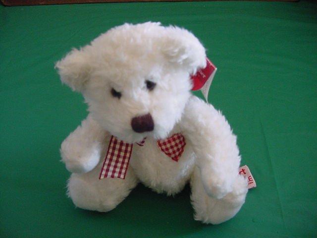 "Russ Berrie True Heart White Bear Stuffed Plush 5"" Tag"