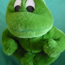"Cute Green Frog Froggy Stuffed Plush 7"" Fiesta"