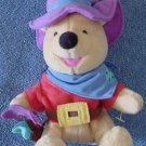 Pooh Bear Cowboy with Flower Holster Stuffed Plush 7""