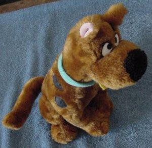 "Scooby Doo Sitting Cartoon Network Stuffed Plush 10"""