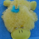 KTW Yellow Duck Laying Down Funny Stuffed Plush