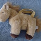 People Pals Pony Horse Zipper Purse Stuffed Plush 10""