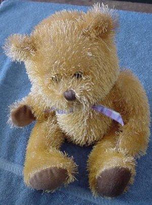 "Circus Circus Casino Stringy Fur Bear Stuffed Plush 9"""