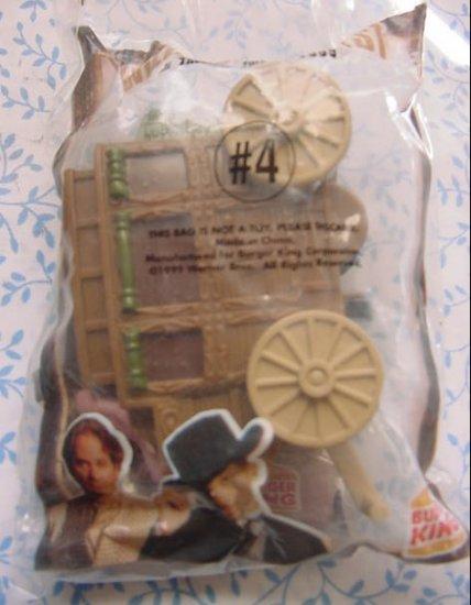 Burger King Wild Wild West Stagecoach Toy #4 MIP 1998