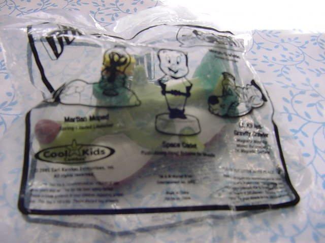 Carl's Jr. Hardees Duck Dodgers Lt. K9 Wind Up Toy MIP