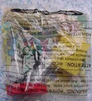 Wendy's Teen Titans Robin Spinner Box Kicker MIP Toy