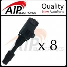 BRAND NEW IGNITION COIL ON PLUG *SET OF 8 *Q45 4.1L V8