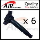 NEW IGNITION COIL ON PLUG SET OF 6 **FITS V6 TOYOTA