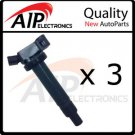 NEW IGNITION COIL ON PLUG set of 3 **LEXUS/TOYO 3.3L V6
