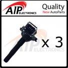 NEW IGNITION COIL ON PLUG PENCIL **V4 V6 V8 **SET OF 3 2.7L Turbo